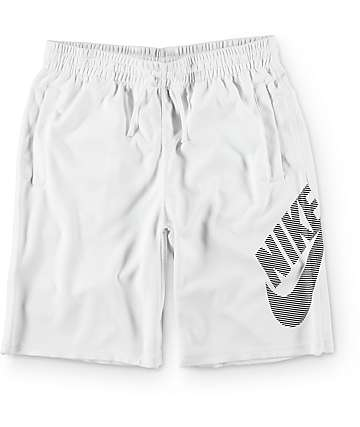 Nike SB Dri-Fit Sunday Stripe White Shorts