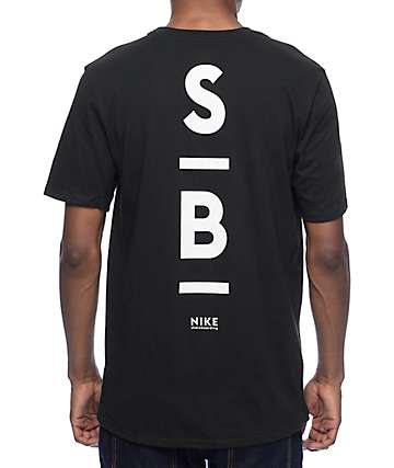 Nike SB Dri-Fit Transit Black T-Shirt