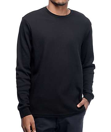Nike SB Dry Thermal Black Long Sleeve Shirt