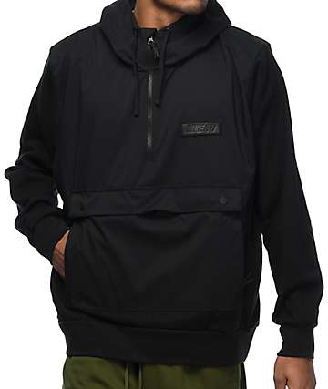 Nike SB Everett Black Repel Anorak Jacket
