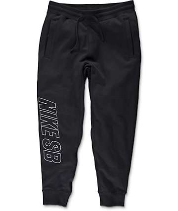 Nike SB Everett Graphic Black & White Pants