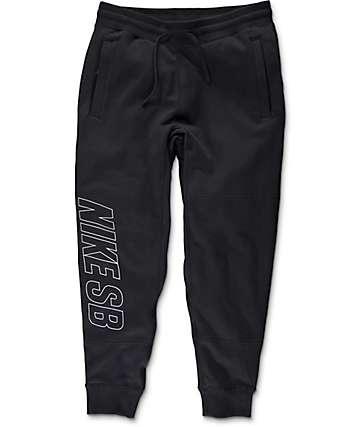 Nike SB Everett Graphic Black & White Pants
