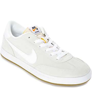 Nike SB FC Classic Summit White Skate Shoes