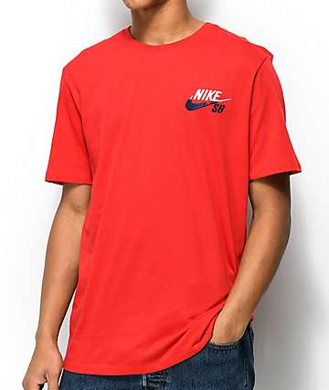 Nike SB Futura Red T-Shirt