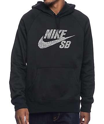 Nike SB Icon Dots Black Hoodie