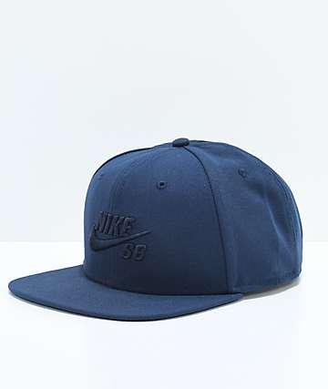 Nike SB Icon Obsidian Snapback Hat