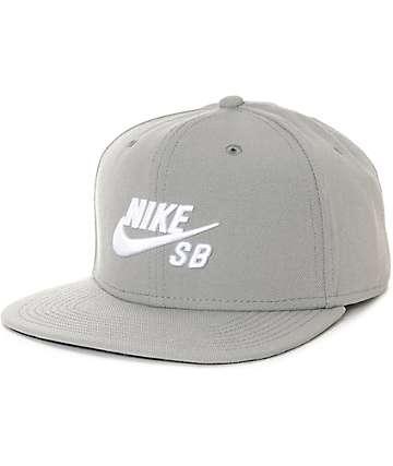 Nike SB Icon Pro Dust gorra negra