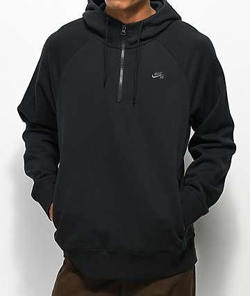 Nike SB Icon sudadera negra