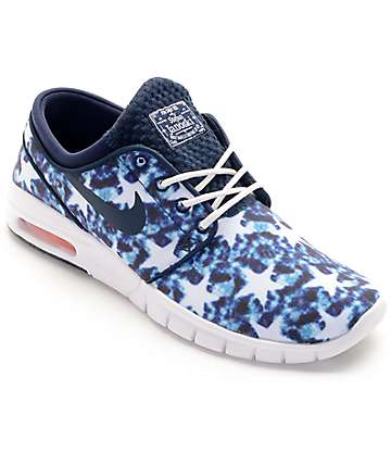 Nike SB Janoski Air Max Premium US Flag Skate Shoes