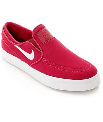 Nike SB Janoski Berry Slip On Women's Skate Shoes