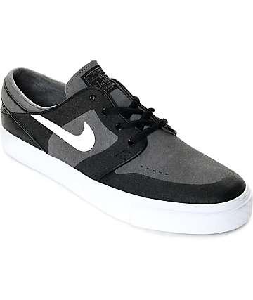 Nike SB Janoski Elite zapatos de skate en gris, blanco y negro