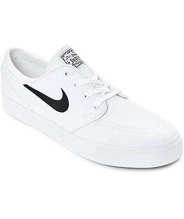 Nike SB Janoski zapatos de skate en blanco y azul marino