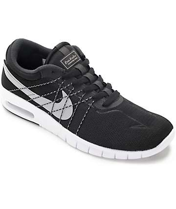 Nike SB Koston Max Black, White & Wolf Grey Shoes