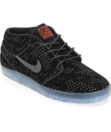 Nike SB Lunar Stefan Janoski Mid Flash Skate Shoes