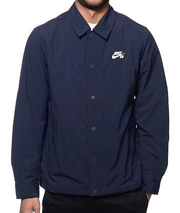 Nike SB Navy Coach Jacket