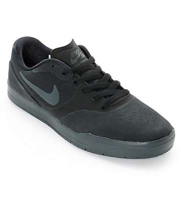 Nike SB Paul Rodriguez 9 CS Black & Anthracite Skate Shoes