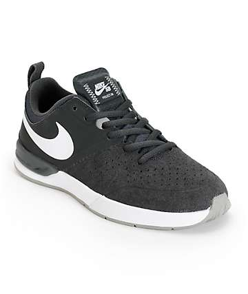 Nike SB Project BA Anthracite & White Skate Shoes