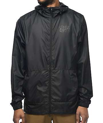 Nike SB Steele Packable Black Windbreaker Jacket