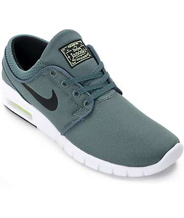 Nike SB Stefan Janoski Air Max Hasta, Volt & Black Shoes