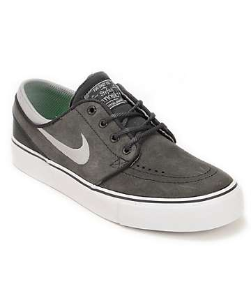 Nike SB Stefan Janoski GS Anthracite & Stadium Grey Boys Shoes