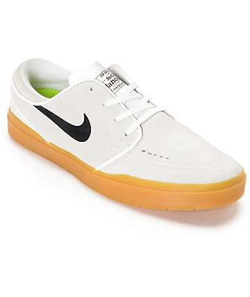 Nike SB Stefan Janoski Hyperfeel Summit White Skate Shoes