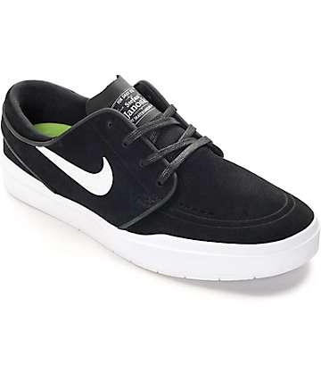 Nike SB Stefan Janoski Hyperfeel zapatos de skate en blanco y negro