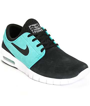 Nike SB Stefan Janoski Max Black, Retro, & White Shoes