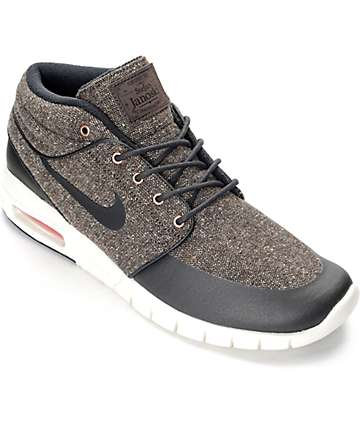 Nike SB Stefan Janoski Max Mid Baroque & White Shoes