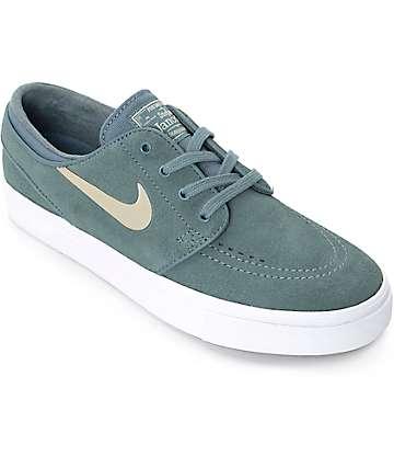 Nike SB Stefan Janoski zapatos de skate en hasta y color oro para mujeres