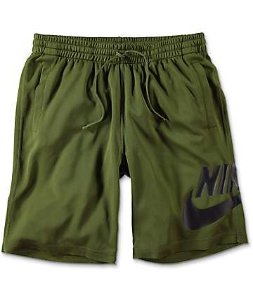 Nike SB Sunday Green Dri-Fit Shorts
