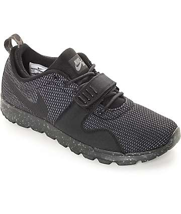 Nike SB Trainerendor SE Black & Dark Grey Shoes
