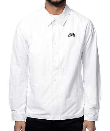 Nike SB White Coach Jacket