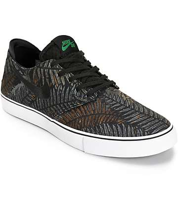 Nike SB Zoom Oneshot Pine Green & Black Skate Shoes