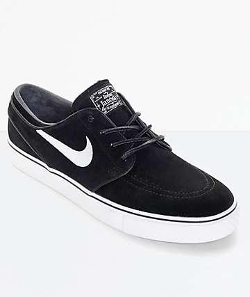 Nike SB Zoom Stefan Janoski OG zapatos de skate en blanco y negro