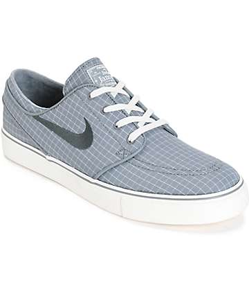Nike SB Zoom Stefan Janoski PR Cool Grey & Sail Skate Shoes