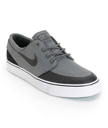 Nike SB Zoom Stefan Janoski PR SE Grey, Black & Turbo Green Shoes
