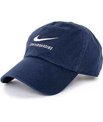 Nike SB gorra béisbol en azul marino
