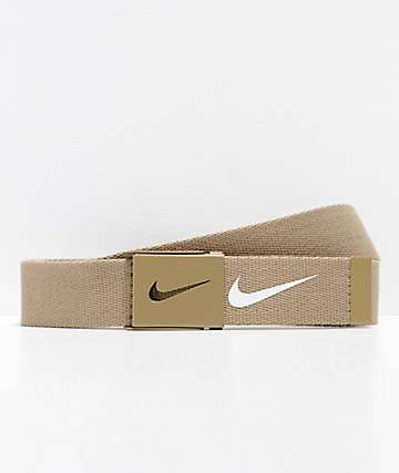 Nike Tech Essentials Tan Web Belt