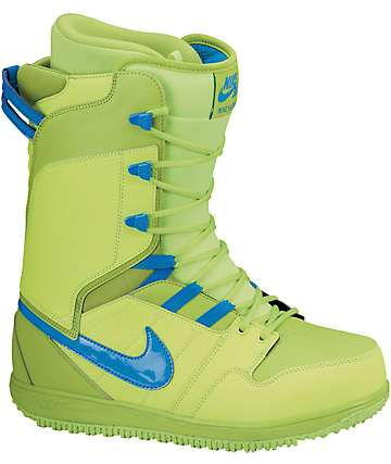 Nike Vapen Volt & Fierce Green Snowboard Boots