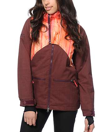 Nikita Hel Watercolor Print 8K Snowboard Jacket