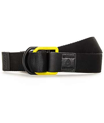 Nikon Syncro Black and Lime Belt