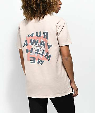 Ninth Hall Ava Run Away jersey de béisbol en color caqui