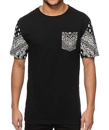 Ninth Hall Bad Dan Bandana Pocket T-Shirt