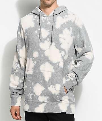 Ninth Hall Bleach sudadera con capucha en gris