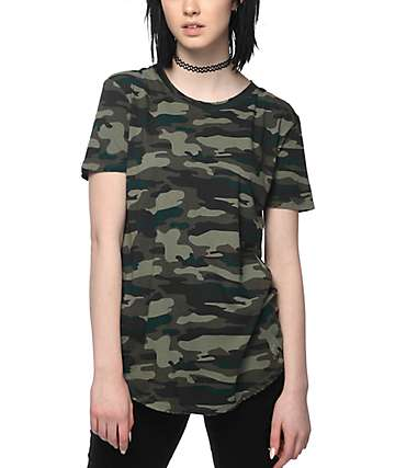 Ninth Hall Dear Camo Destructed T-Shirt