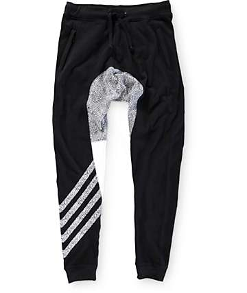 Ninth Hall Denny Elephant Stripe Terry Jogger Pants
