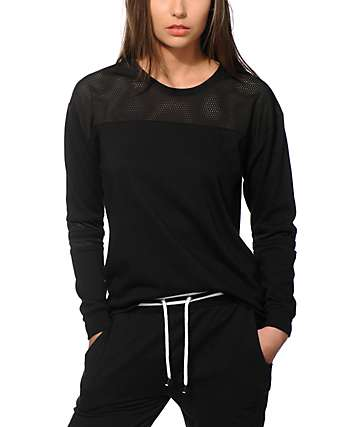 Ninth Hall Dre Mesh Crew Neck Sweatshirt