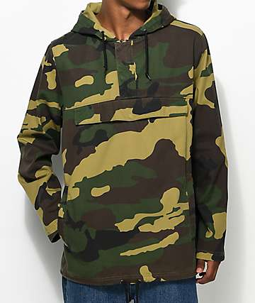 Ninth Hall Falcon Camo Anorak Jacket