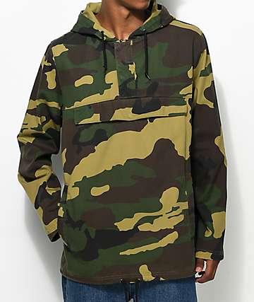 Ninth Hall Falcon Camo Anorak Jacket