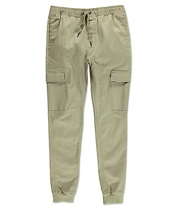 Ninth Hall Feral Mermaid Elastic Waist Cargo Pants